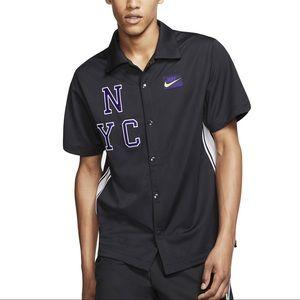 Nike Men's NYC Court Short Sleeve Tennis Top NWOT